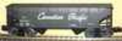 Weaver CP (script)  2 bay hopper car, 3 rail or 2 rail