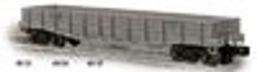 Weaver PRR M/W gray 40' wood side gondola, 3 rail or 2 rail