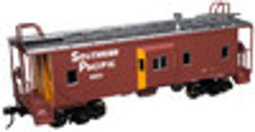Atlas O SP (large letters)  Bay window caboose,  3 rail