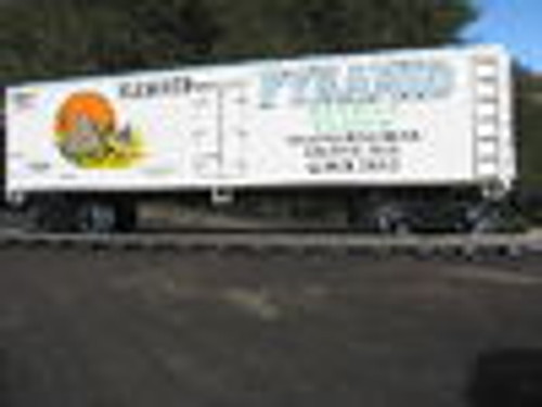 Weaver Pyramid Flour 40' Reefer, 3 or 2 rail