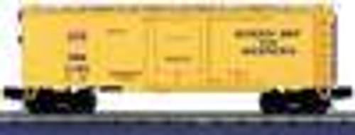 MTH Premier GB&W 40' Plug Door (bunkerless)  Reefer, 3 rail