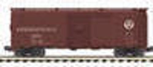 MTH Premier PRR AAR 40'  steel Box car, 3 rail