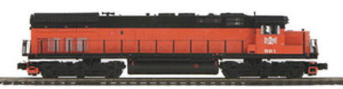MTH Premier B&LE SD-45T-2 Tunnel Motor diesel, 2 rail,  p2.0, sound, cruise, exhaust