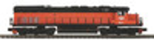 MTH Premier B&LE SD-45T-2 Tunnel Motor diesel, 2 rail,  p2.0, sound, cruise, exhaust