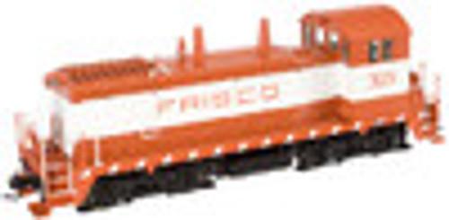 Atlas O Frisco (SLSF) SW-9 switcher, 3 rail, tmcc