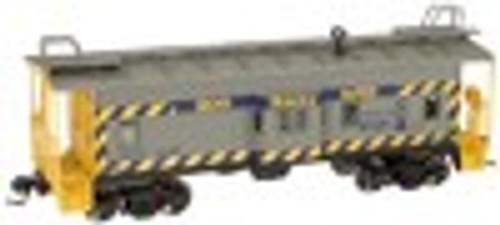 Atlas O CSX (safety, blue/gray)  Bay window caboose, 2 rail