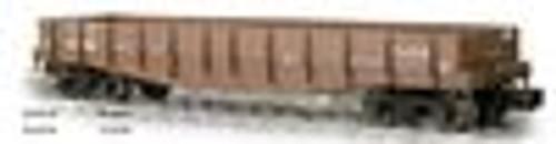 Weaver Santa Fe 40' wood side gondola, 3 rail or 2 rail