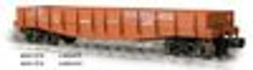 Weaver PRR 40' wood side gondola (no logo), 3 rail or 2 rail