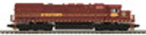 MTH Premier DMIR SD-45T-2 Tunnel Motor diesel, 2 rail,  p2.0, sound, cruise, exhaust