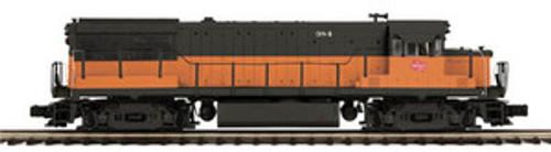 MTH Premier MILW U25b diesel, 2 rail, w/Sound and smoke