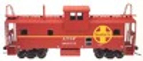 Atlas O Santa Fe  Extended Vision caboose, 2 rail