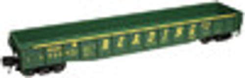Atlas O Reading  50' gondola (green), 3 rail or 2 rail