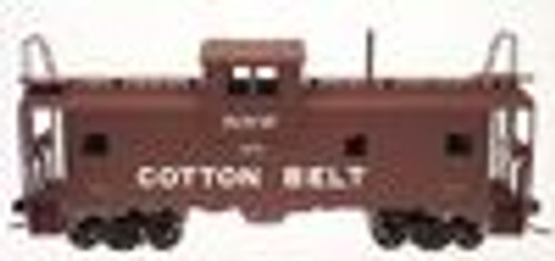 Atlas O Cotton Belt  Extended Vision caboose, 3 rail