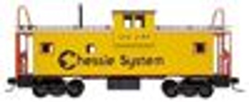 Atlas O Chessie System  Extended Vision caboose, 3 rail or 2 rail