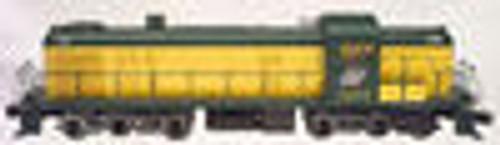 Atlas O C&NW  Alco  RSD-5 diesel, 3 rail, horn and bell