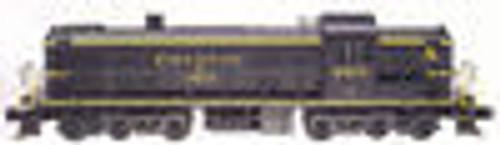 Atlas O C&O  Alco RSD-5 diesel, 3 rail, horn and bell
