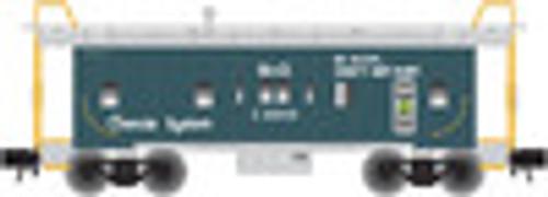 Atlas O Chessie System (Green) Bay Window Caboose, 3 Rail