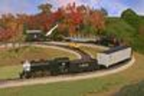 Atlas Industrial Rail Santa Fe  Freight train set,