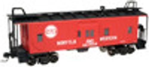 Atlas O N&W  Bay window caboose, 2 rail