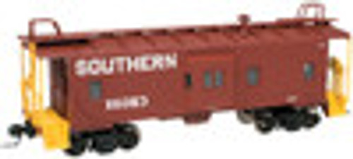 Atlas O Southern  (Brown)  Bay window caboose,  2 rail