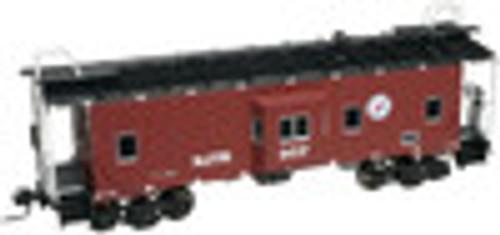 Atlas O  NJT   Bay window caboose,  3 rail or 2 rail