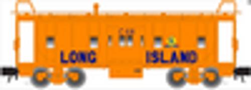Atlas O LIRR bay window caboose, 2 rail or 3 rail
