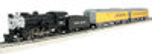 Atlas Industrial Rail UP Steam engine with passenger cars