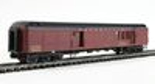 Golden Gate PRR MB70 baggage-mail car, 3 rail or 2 rail