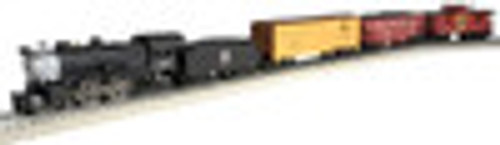 Atlas Industrial Rail GN  Steam Engine with freight cars and caboose