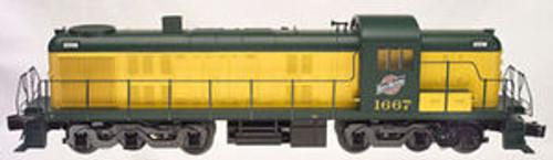 Atlas O C&NW  Alco  RSD-5 diesel, 3 rail, tmcc