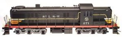 Atlas O Cotton Belt (SSW) Alco RSD-5, 3 rail, horn and bell