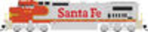 Atlas O Santa fe Dash 8-40CW, 3r, tmcc, smoke, cruise