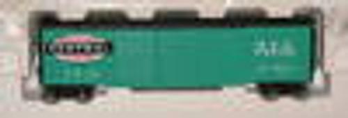 Pecos River NYC jade green   50' double door box car