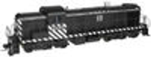 Atlas O  Santa fe (zebra stripe)  Alco RSD-5, 3 rail, tmcc