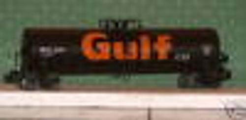 Weaver Gulf  50' tank car, 3 rail or 2 rail