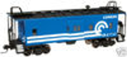 Atlas O Conrail  Bay window caboose,  3 rail or 2 rail
