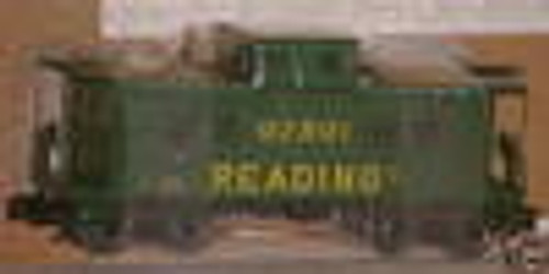 Weaver Reading  Northeastern style caboose, 3 or 2 rail