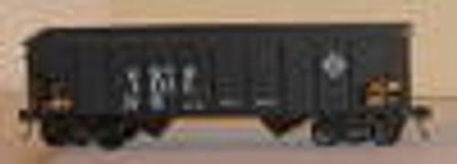 Weaver Erie 2 bay hopper car, 3 rail or 2 rail