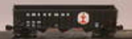 Weaver ICG 3 bay hopper car, 3 rail or 2 rail