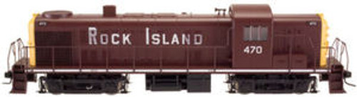Atlas O Rock Island  RS-3, 3 rail TMCC