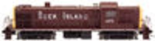 Atlas O Rock Island  RS-3, 3 rail TMCC