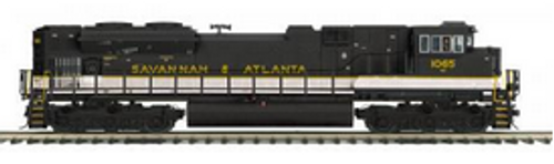 MTH Premier Savannah and Atlanta SD70ACe, 2 rail, Proto 3.0, DCC