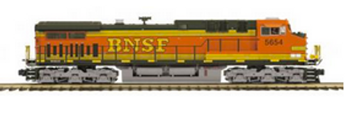 MTH Premier BNSF AC-44CW, diesel, 2 rail, p2.0 ,sound, smoke