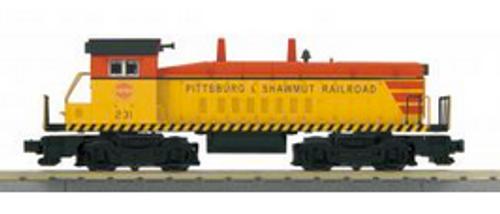 MTH Railking Pittsburgh & Shawmut SW-9 switcher, 3 rail, P3.0