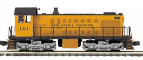 MTH Premier AC&Y S-2  switcher, 3 rail, P3.0