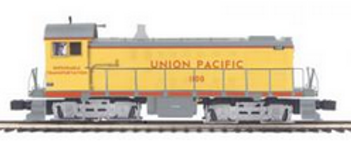 MTH Premier UP S-2  switchers, 3 rail, Powered and Non-powered pair