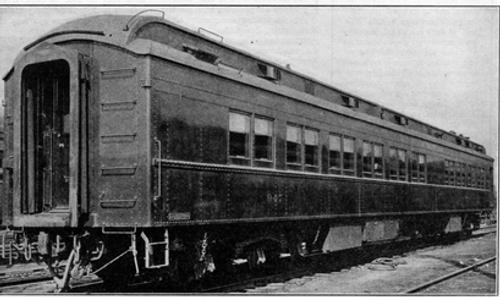 Golden Gate Depot Erie Dining  car, 3 rail