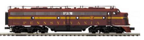 MTH Premier  PRR E-8A-A  diesels (pwr/non-pwr), 3 rail, w/Sound and smoke. proto 3.0