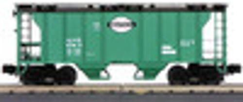 MTH Premier NYC (green) Ps-2 Covered Hopper, 3 rail