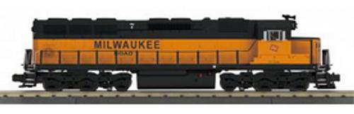 MTH Railking Scale  MILW SD-45  diesel, 3 rail, non powered